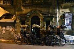 Rickshaw In Kolkata Royalty Free Stock Photo