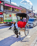Rickshaw in Kyoto Royalty Free Stock Photos