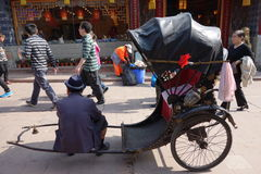 Rickshaw Royalty Free Stock Images