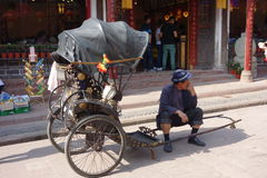 Rickshaw Royalty Free Stock Image