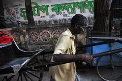 Rickshaw Man stock photos