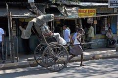 Rickshaw Man royalty free stock photography