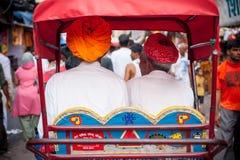 Rickshaw Passengers Stock Images