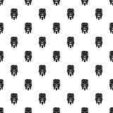 Rickshaw pattern seamless vector stock illustration