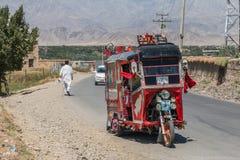 Rickshaw Provinz Kapisa Afghanistan Royalty Free Stock Images