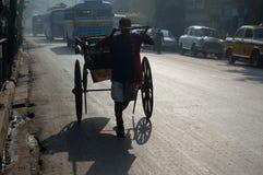 Rickshaw Puller Royalty Free Stock Image