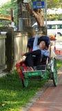 rickshaw fotografie stock
