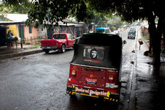 Rickshaw in San Juan de Oriente, Nicaragua Royalty Free Stock Photos