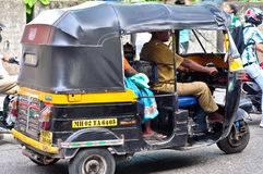 Rickshaw/Tuk Tuk from India Royalty Free Stock Image