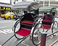 Rickshaw in urban style Stock Photos