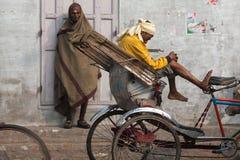Rickshaw wallahs Stock Image