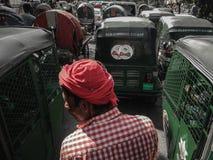 Rickshawala 免版税库存照片
