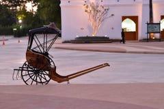 Rickshawen Arkivfoton