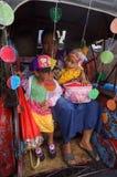 Rickshawen ståtar Fotografering för Bildbyråer