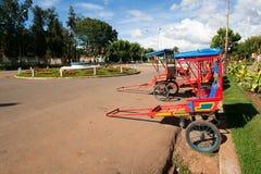 Rickshaws Stock Photo