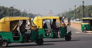 Rickshaws Stock Images