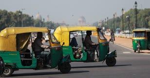 Rickshaws. Tuk Tuks or auto rickshaws Stock Images
