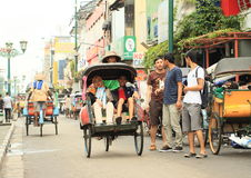 Rickshaws Royalty Free Stock Image