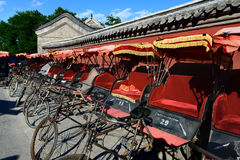 Rickshaws in China Stock Images