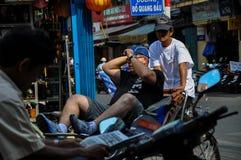 Rickshaws in Saigon, Vietnam Royalty Free Stock Photo