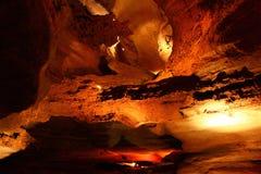 阿拉巴马洞穴rickwood 免版税库存照片