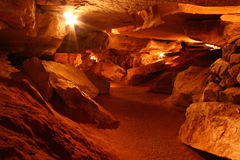 Rickwood Caverns - Alabama. Amazing underground cave formations of Rickwood Caverns in Alabama Stock Photography