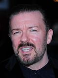Ricky Gervais. Arriving for the Marie Claire Inspire & Mentor Campaign reception at the W Hotel in Leicester Square London 17th May 2011. Picture by Simon stock photo