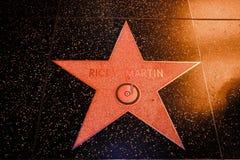 Ricky Martin. Stock Photo