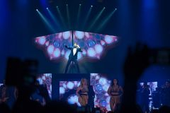Ricky Martin in Prague Royalty Free Stock Photography