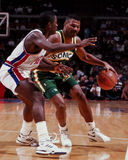 Ricky Pierce Seattle Sonics Stock Photo