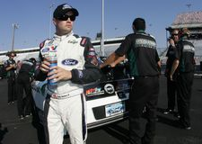 Ricky Stenhouse Jr. at the track Royalty Free Stock Photo