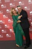 Ricky Tognazzi and Simona Izzo Royalty Free Stock Photos