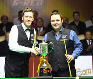 Ricky Walden and Stephen Maguire Stock Images