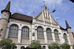 Rico-ciudad del ¼ de ZÃ: El Museo Nacional suizo muestra la historia y el Cu fotos de archivo