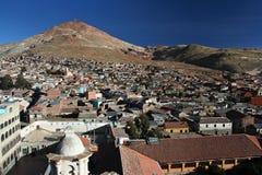 Rico de Potosi et de Cerro Image libre de droits