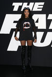 Rico Nasty. NEW YORK-APR 8: Rico Nasty attends the premiere of `The Fate of the Furious` at Radio City Music Hall on April 8, 2017 in New York City Stock Images