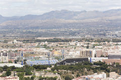 Rico Perez football stadium Stock Photos