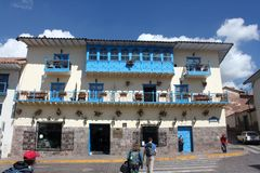 Rico regional, Cusco, Perú del ³ de Museo Histà Imagen de archivo