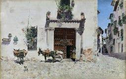 Rico y Ortega, en Toledo della casa di Puerta - di Martin de una illustrazione di stock