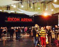 Ricoh arena Coventry Fotografia Royalty Free