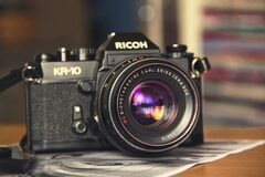 Ricoh camera Stock Photos