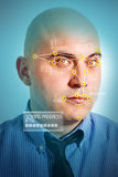 Riconoscimento facciale Fotografia Stock Libera da Diritti