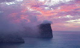 Ricopra de Formentor al tramonto - Balearic Island Maiorca - Spagna fotografia stock