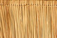 Ricopra di paglia il tetto Fotografia Stock Libera da Diritti