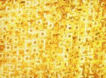 Ricopre il fondo giallo dorato di struttura di Buddha Fotografia Stock Libera da Diritti