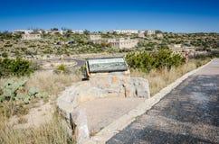 Ricordando il ccc - caverne di Carlsbad - il New Mexico Fotografie Stock