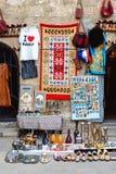 Ricordi azeri di Tradional nella vecchia città di Bacu immagini stock libere da diritti