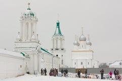 Ricordi commerciali vicino al monastero Fotografia Stock Libera da Diritti