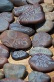 Ricordi dei ciottoli con le linee di Nazca Fotografia Stock Libera da Diritti