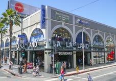 Ricordi della terra della La della La a Hollywood - LOS ANGELES - CALIFORNIA - 20 aprile 2017 Fotografia Stock
